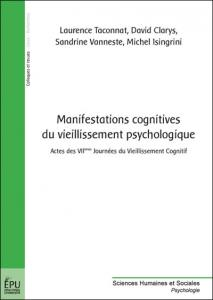 Manifestations cognitives du vieillissement psychologique